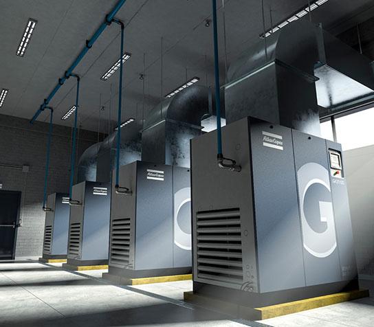 永磁变频空压机GA7-75 VSD iPM