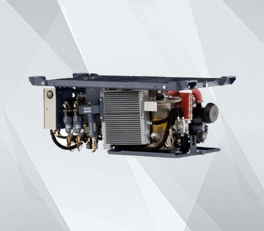 GAR轨道喷油螺杆压缩